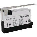 MTB4-MS7125, Выключатель концевой, 10A, IP54, рычаг нажимной