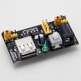 Фото 1/3 Модуль питания беспаечной макетной платы (USB)