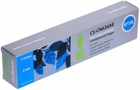 Картридж CACTUS CS-CN626AE №971XL, голубой