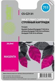 Картридж CACTUS CS-CZ131 №711, пурпурный