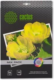 Фотобумага Cactus CS-MIXPACK A4/21л. различная фактура универсальная