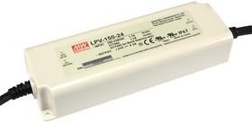 LPV-150-24, AC/DC LED, 24В,6.3А,150Вт,IP67 блок питания для светодиодного освещения