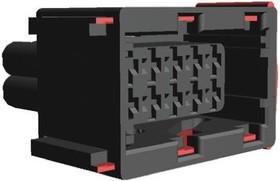 1-967240-1, Conn Housing RCP 10 POS 5mm Crimp ST Cable Mount Automotive Carton