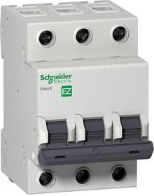 Фото 1/2 Выключатель автоматический модульный 3п C 40А 4.5кА EASY9 =S= SchE EZ9F34340