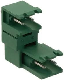 1763074, Conn Shrouded Header (2/2 Sides) HDR 4 POS 5.08mm Solder ST Thru-Hole Cardboard