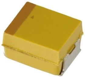 TCJD106M050R0120, Cap Tant Polymer 10uF 50VDC D CASE 20% (7.3 X 4.3 X 2.9mm) SMD 7343-31 0.12 Ohm 105C T/R