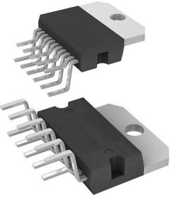 TDA7396, Мостовой одноканальный усилитель мощности звука, 45Вт, 2 Ом, с функцией самодиагностики