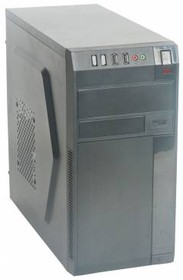 Корпус mATX FORMULA FM-608, Micro-Tower, 450Вт, черный