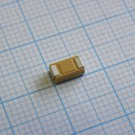 Фото 2/2 T491C686K006AT, Surface Mount Tantalum Capacitor, 68 мкФ, 6.3 В, 2312 [6032 Метрический], серия T491, ± 10%, -55 °C