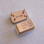 Осцилятор 20MHz, CMOS/TTL