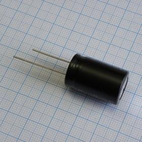Фото 1/2 ECAP (К50-35), 2200 мкФ, 35 В, 85°C, Конденсатор электролитический алюминиевый