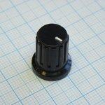 Ручка KDC15-17-6J чёрн. d=6