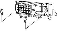 0743209000, Conn MicroCross RCP 24 POS 1.91mm Solder RA Thru-Hole 24 Terminal 1 Port MicroCross™ Tray