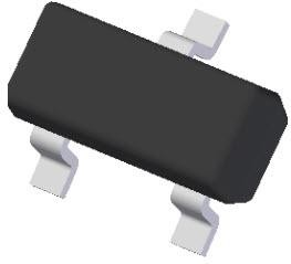 Фото 1/4 BAS21-7-F, Rectifier Diode Small Signal Switching 250V 0.4A 50ns 3-Pin SOT-23 T/R