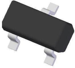 Фото 1/2 MMBZ5242B-7-F, Zener Diode Single 12V 5% 30Ohm 350mW 3-Pin SOT-23 T/R