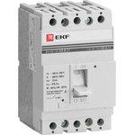 Автоматический выключатель ВА-99 125/25А 3P 25кА EKF PROxima | mccb99-125-25 | EKF
