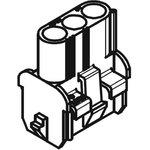 Фото 2/2 50-84-2030, Корпус разъема, MLX 42022 Series, Гнездо, 3 вывод(-ов), 6.35 мм