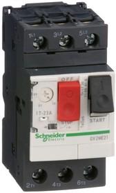 Выключатель автоматический для защиты электродвигателей 17-23А GV2 управление кнопками