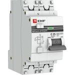 Выключатель авт. диф. тока 1п+N C 25А 100мА тип AC 4.5кА ...