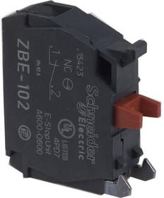 ZBE102, Блок контактов 1НЗ SchE