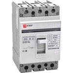 Выключатель авт. 3п ВА-99 250/160А 35кА EKF mccb99-250-160