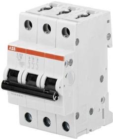 Выключатель автоматический трехполюсный 2А С S203 6кА