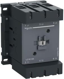 Контактор 3п 160А 1НО+1НЗ 380В AC TeSys E (ПМ12-160150) SchE LC1E160Q5