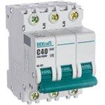 Выключатель автоматический модульный 3п C 40А 4.5кА ВА-101 SchE 11082DEK