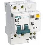 Выключатель автоматический дифференциального тока 2п C 16А ...