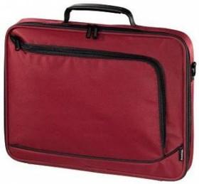 """Сумка для ноутбука HAMA Sportsline Bordeaux 17.3"""" политекс красный [101175]"""