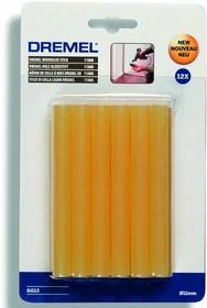GG13, Стержни клеевые высокотемпературные 11мм х 12шт, желтые