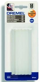 GG01, Стержни клеевые высокотемпературные 7мм х 12шт, белые