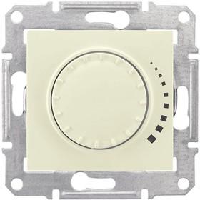Sedna Диммер поворотно-нажимной 60-500Вт/ВА индуктивный в рамку бежевый