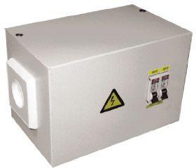 Фото 1/2 Ящик с понижающим трансформатором ЯТП 0.25 220/36В (2 авт. выкл.) Basic EKF yatp0.25-220/36v-2a