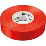 Изолента ПВХ 15мм (рул.20м) красн. NIT-B15-20/R Navigator 71104