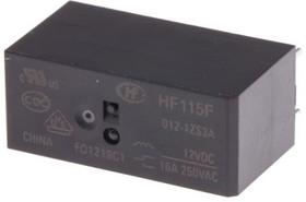 HF115F/012-1ZS3A, Реле 1 пер. 12VDC/16A, 440VAC