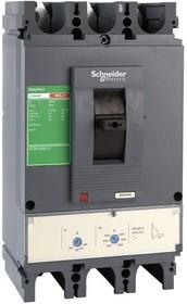Выключатель автоматический трехполюсный Compact CVS 400F 36kA 400A TM400D