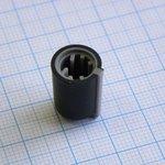 Ручка KA483-1 чёрно-сер. лыска d=6