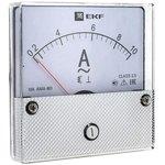 ama-801-200, Амперметр AM-A801 аналоговый на панель 80х80 (круглый вырез) 200А ...