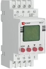 Таймер электронный многофункциональный ТМ-24 PROxima EKF tm-24
