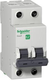 Фото 1/2 Выключатель автоматический модульный 2п C 20А 4.5кА EASY9 =S= SchE EZ9F34220