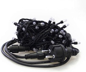 Гирлянда RB-LD100-B-E 100 син. светодиодов сетевой провод 150см до 10-ти соединений IP44 10м SHLights 4690601021762