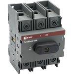 tb-100-3p-f, Рубильник 100A 3P c рукояткой управления для прямой установки ...