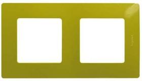 ETIKA Рамка 2 поста зеленый папоротник