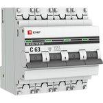 Выключатель автоматический модульный 4п C 40А 4.5кА ВА 47-63 ...
