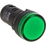 Матрица светодиодная AD16-16HS 24В AC (16мм) зел. EKF ledm-ad16-24-g