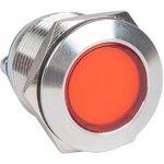 s-pro67-311, Лампа красная сигнальная S-Pro67 19 мм 230В