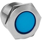 s-pro67-341, Лампа синяя сигнальная S-Pro67 19 мм 230В EKF PROxima