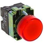 xb2-bv64, Лампа сигнальная BV64 красная с подсветкой