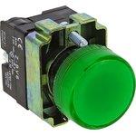 xb2-bv63-24, Лампа сигнальная BV63 зеленая EKF 24В
